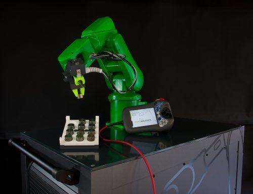 Exklusive Inhouse-Schulungen für ABB Roboter – mobile Schulungsroboter für den bequemen und flexiblen Einsatz direkt beim Kunden vor Ort